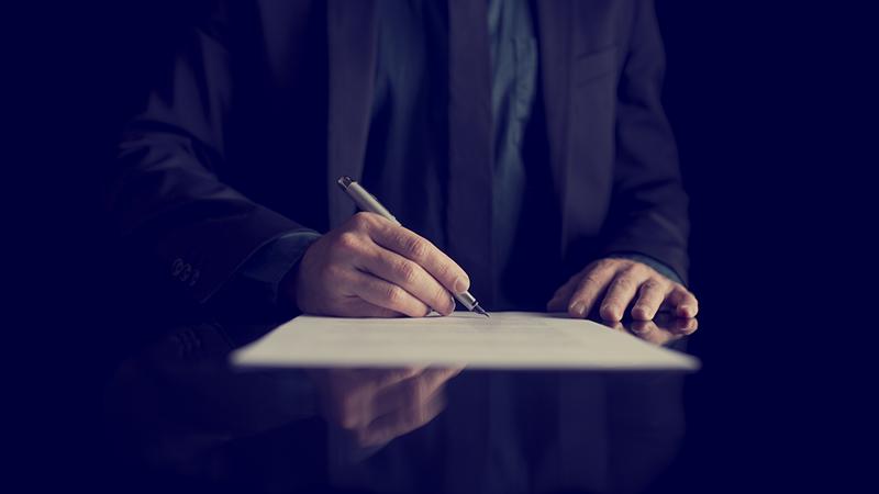 Contracts slider - Регистрация смерти и похороны